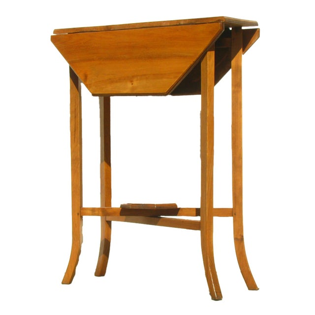 English Narrow Drop Leaf Table - Image 3 of 4