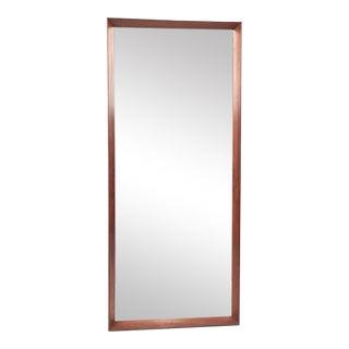 Vintage Danish Rosewood Mirror