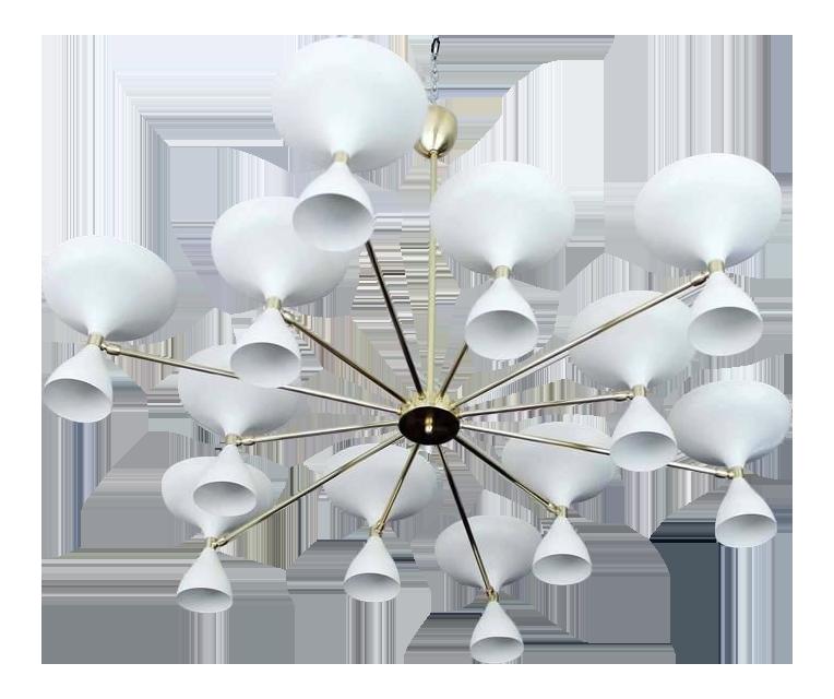 antique designer mid century modern furniture decaso Art Nouveau Interior Decor stellar union milano chandelier