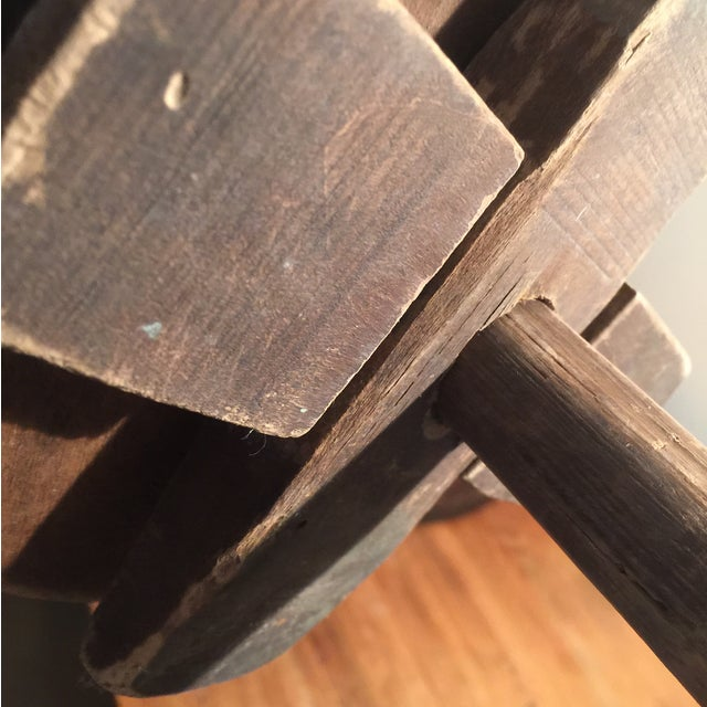 Antique Wooden Butter Churn - Image 7 of 11