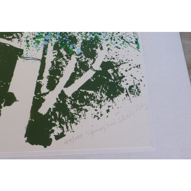 """""""Spring Two"""" Modernist Print by Calvin Libby - Image 7 of 11"""
