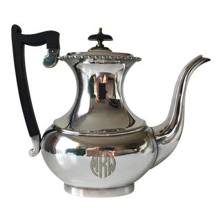 Sheffield English Silver Coffee Pot