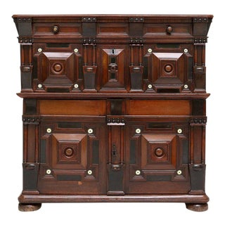 William and Mary Cupboard Chest