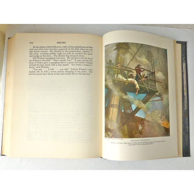 """""""Drums"""" Book Illustrated by N.C. Wyeth, 1928 - Image 9 of 11"""