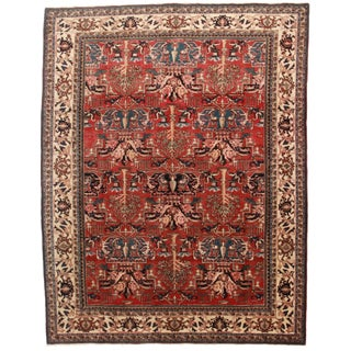 """Hand Knotted Wool Persian Hariz Rug - 7'10"""" X 10'5"""