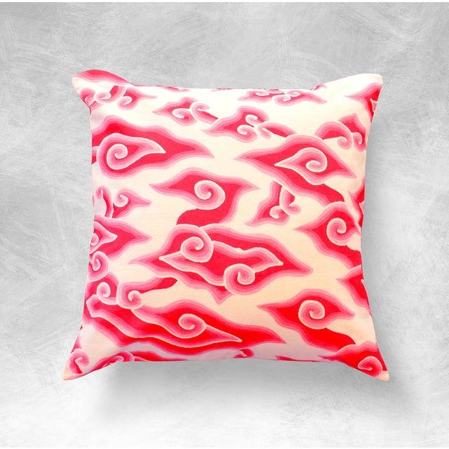 Mega Mendung Handmade Batik Pillow Case - Image 2 of 5