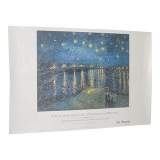 """Van Gogh, Gauguin, Cezanne and Beyond"" Exhibition Poster"