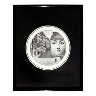 "Piero Fornasetti ""Tema E Variazioni"" Framed Print"