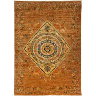 """Ziegler Hand Knotted Area Rug - 5'10"""" X 8'4"""""""