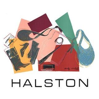 Andy Warhol-Halston-1982 Serigraph