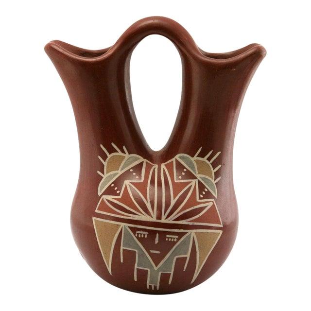 Flora Naranjo Santa Clara Redware Wedding Vase - Image 1 of 7