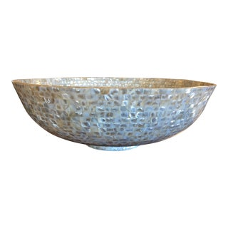 Oyster Shell Mosaic Bowl