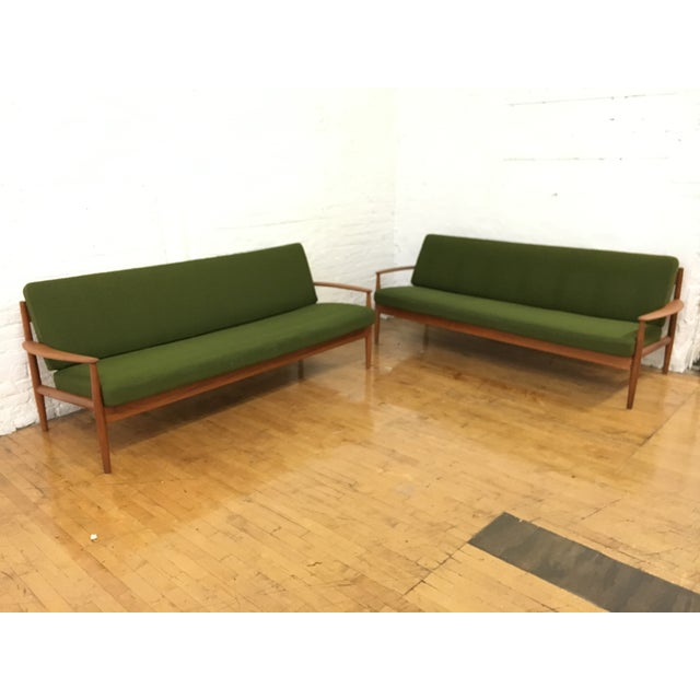 Grete Jalk Danish Sofas - A Pair - Image 8 of 9