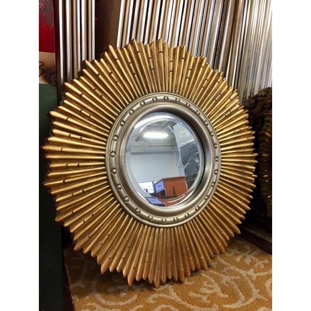 Sunburst Porthole Beveled Wall Mirror - Image 3 of 5
