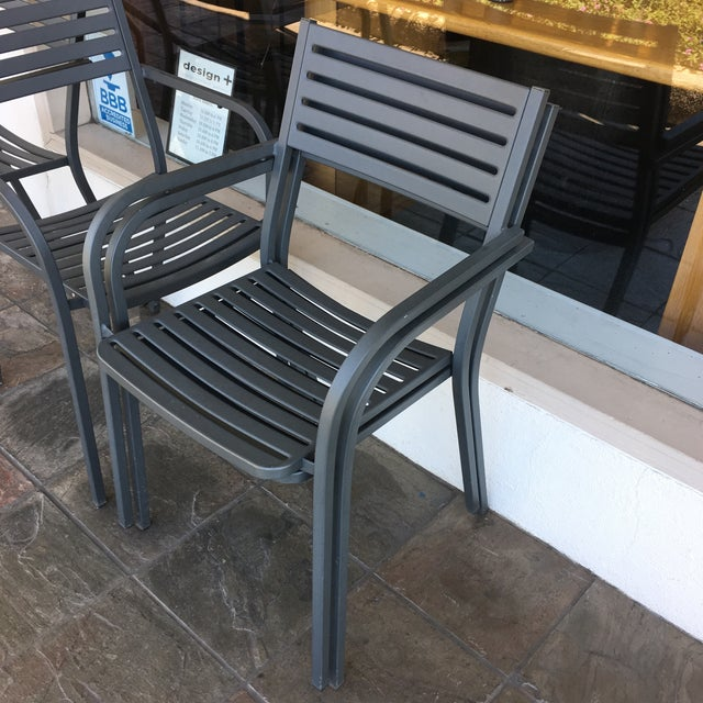 Emu Segno Stackable Outdoor Dining Chairs - Set of 4 - Image 7 of 8