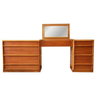 T.H. Robsjohn-Gibbings Vanity Dresser for Widdicomb