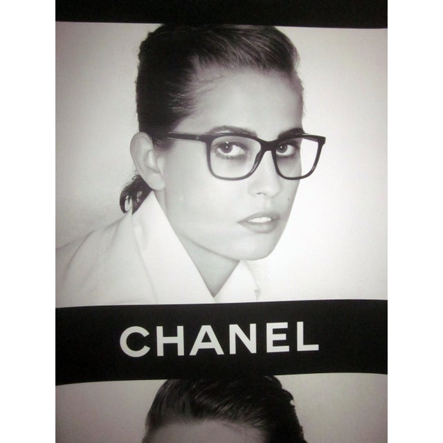 Image of Authentic Chanel Sunglasses Eyeglass Store Display