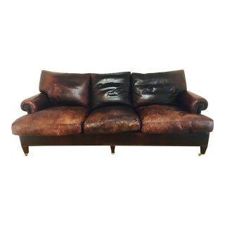 George Smith Leather Sofa