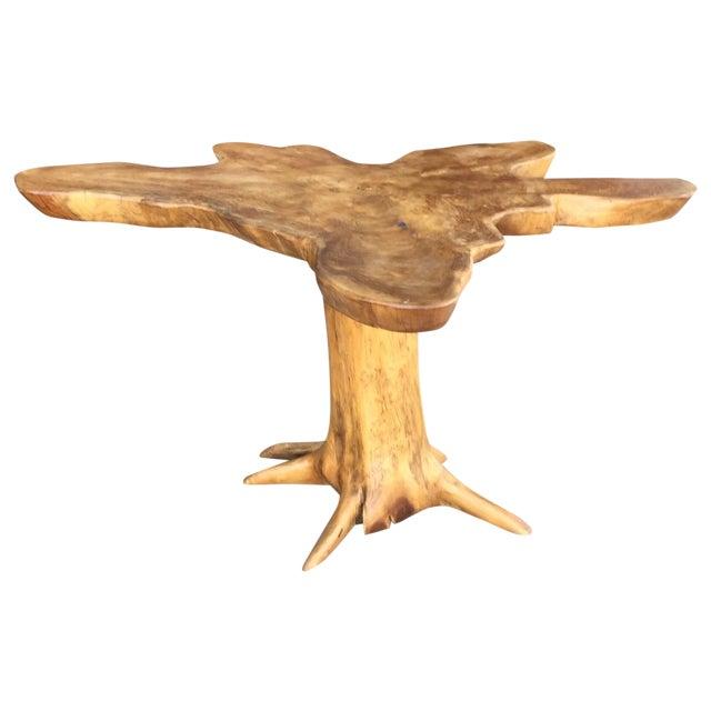 Image of Petrified Wood Side Table