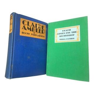 """Claire Ambler"" & ""Death Comes for the Archbishop"" Books - A Pair"
