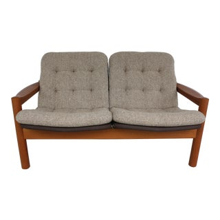Domino Mobler Danish Modern Loveseat