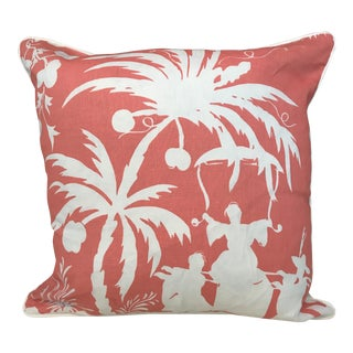 China Seas for Quadrille Pillow Lyford