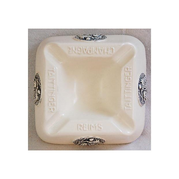 French Taittinger Champagne Cigar Ashtray - Image 5 of 8