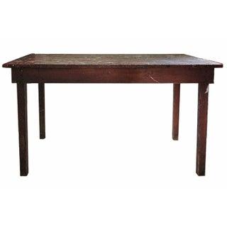 Rustic Pine Work Table
