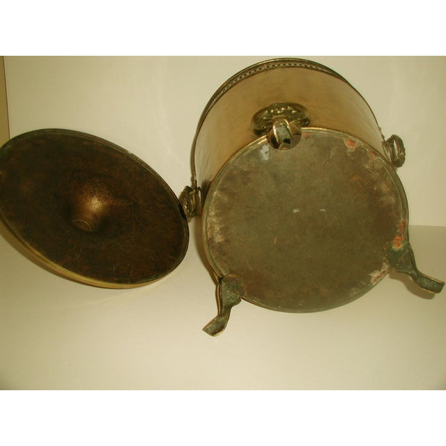 English Early 1900's Brass Coal Hod - Image 7 of 10