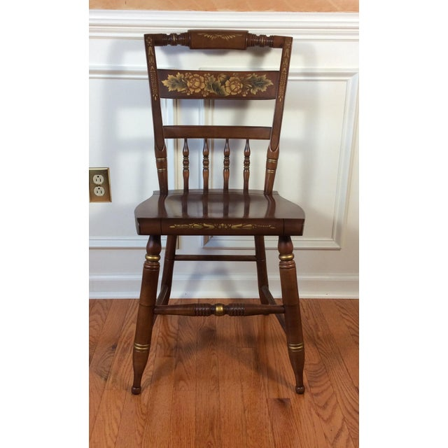 Vintage Hitchcock Inn Chair - Image 3 of 8