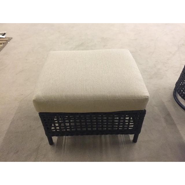 Image of Lane Venture Platinum Chair & Ottoman