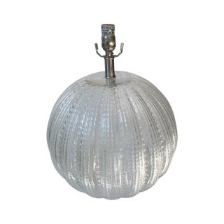 Robert Abbey Glass Sea Urchin Table Lamp