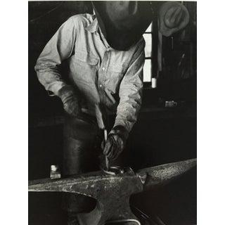 1966 Black & White Cowboy Photo Signed