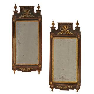 Tony Hail Danish Mirrors - A Pair