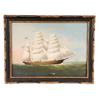 China Trade Ship Painting