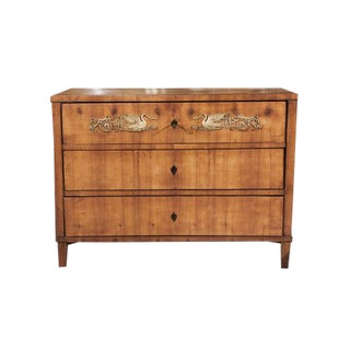 Neoclassical Three Drawer Commode
