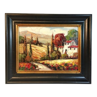 Italian Landscape Oil Painting