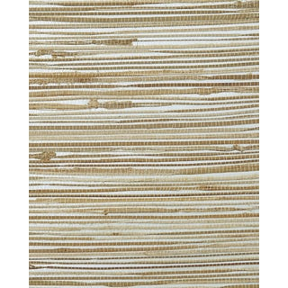 Serena & Lily Metallic Grasscloth Wallpaper