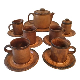 McCoy Canyon Teapot Creamer Sugar & Mugs