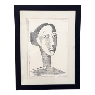 Head of a Woman With Chignon Pablo Picasso Print