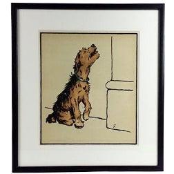 Dog Lithograph by Cecil Aldin, 1914