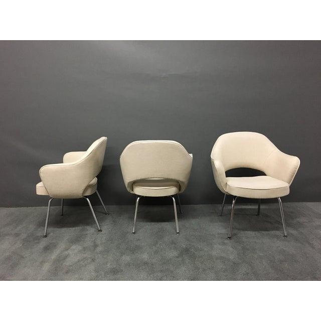 Saarinen for Knoll Executive Armchairs - Set of 6 - Image 3 of 6