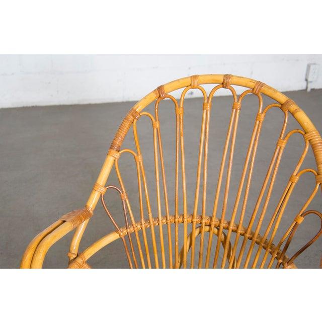 Rohe Noordwolde Bamboo Hoop Armchair - Image 9 of 11