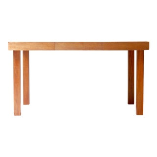 George Nelson Walnut Dining Table