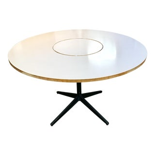 George Nelson Lazy Susan Round Dining Table