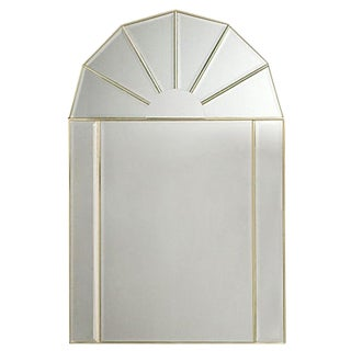 Arched Mirror with Beveled Panels