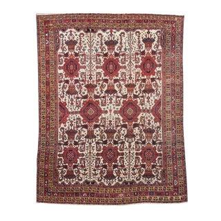 Bakhtiari Carpet with Pure Ivory Ground