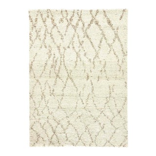 Hand-Knotted Wool Area Rug - 9′ × 12′