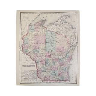 Map of Wisconsin/Dakota