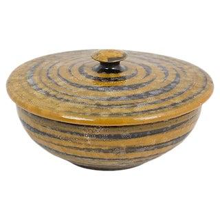 Italian Pottery Covered Dish